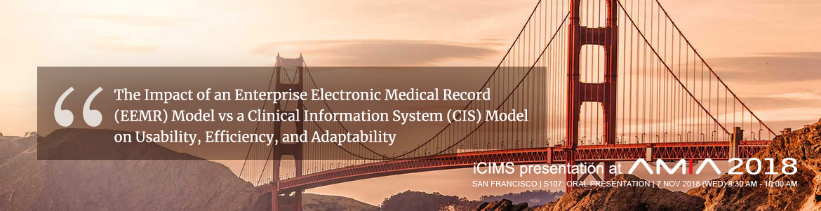 iCIMS Presentation at AMIA 2018