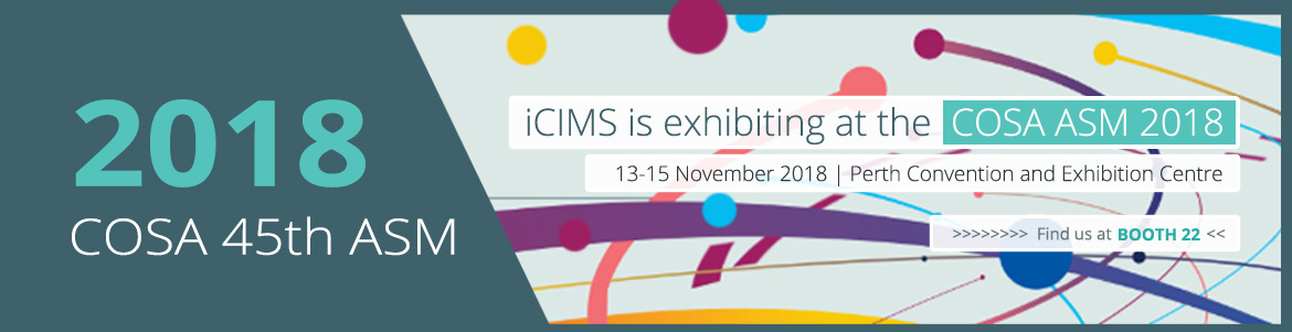 iCIMS Exhibiting at COSA 2018